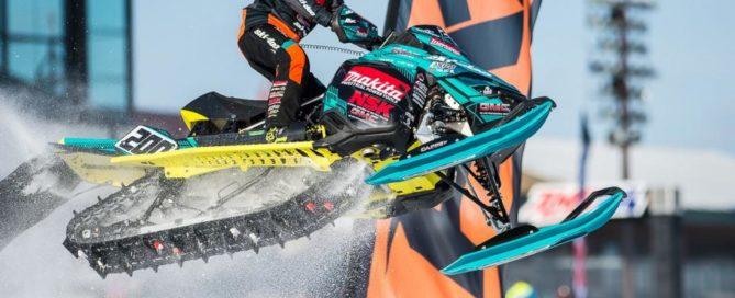 Elias Ishoel racing snocross