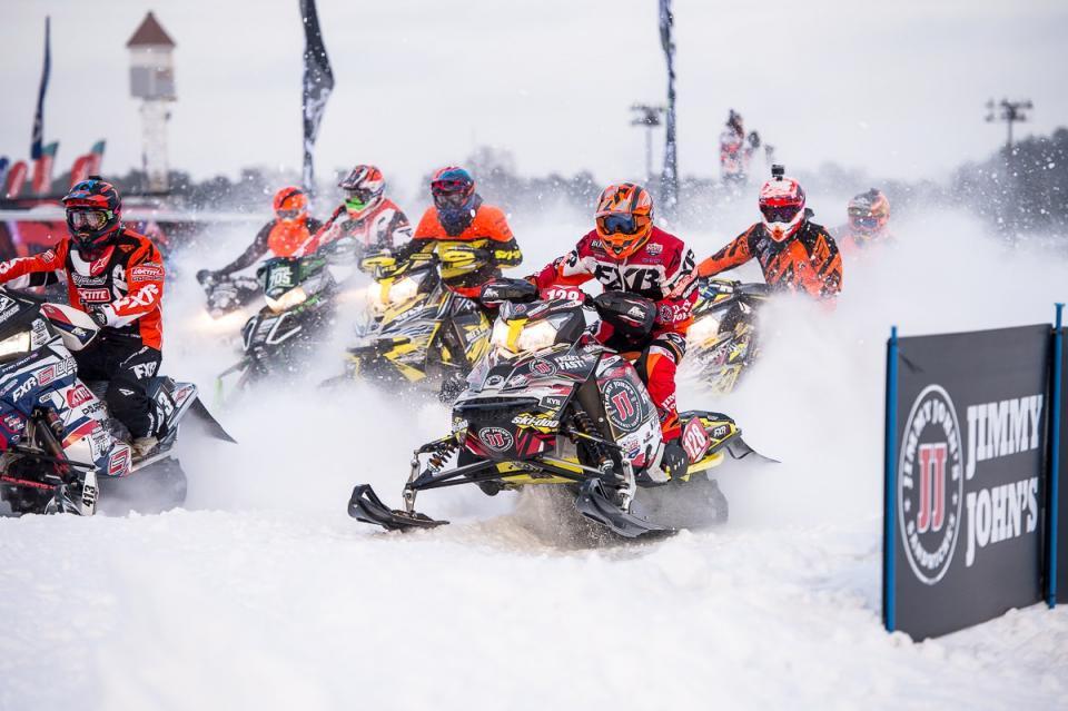 Nick Lorenz snocross racing