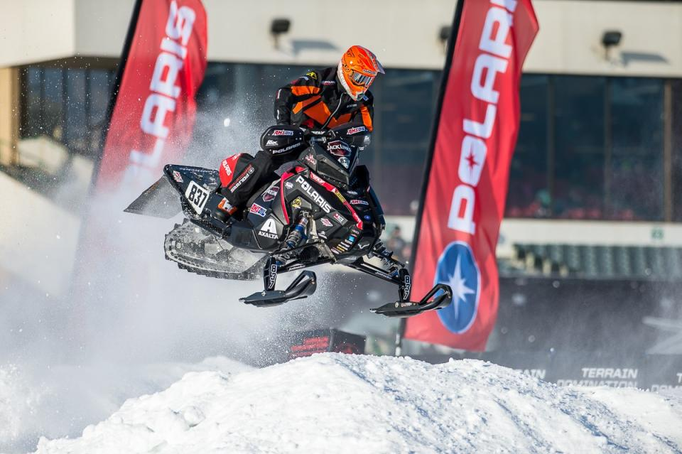 Ross Martin snocross racing