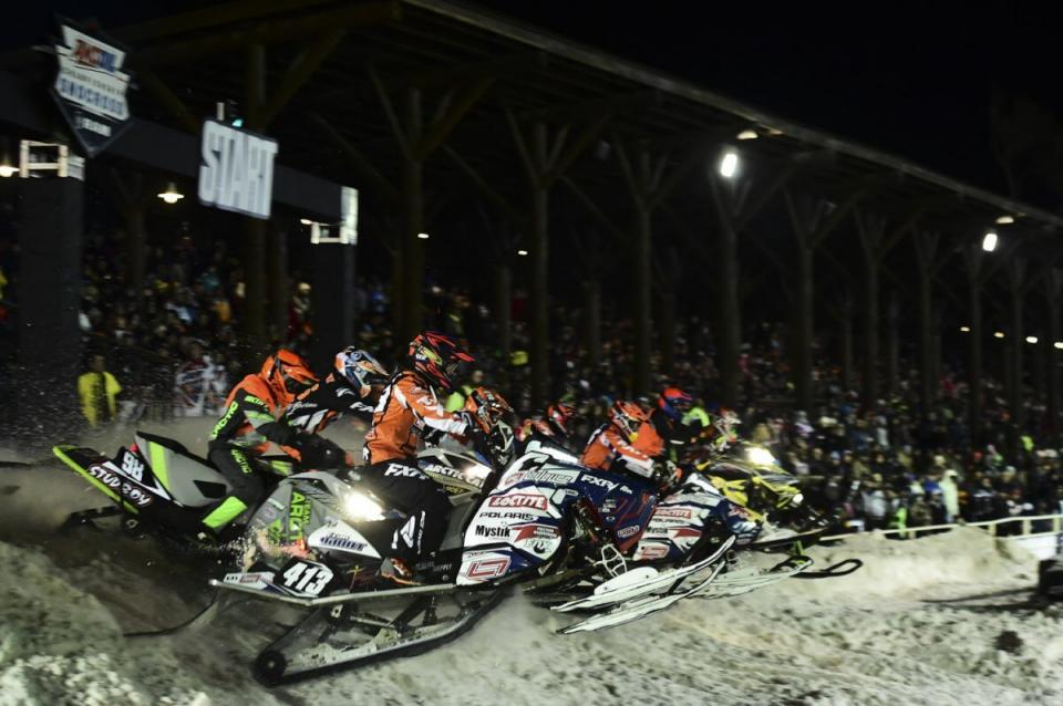 Deadwood Snocross racing