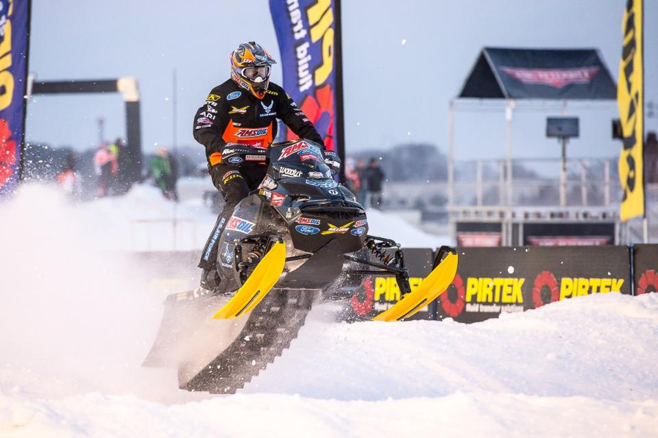 Tim Tremblay snocross