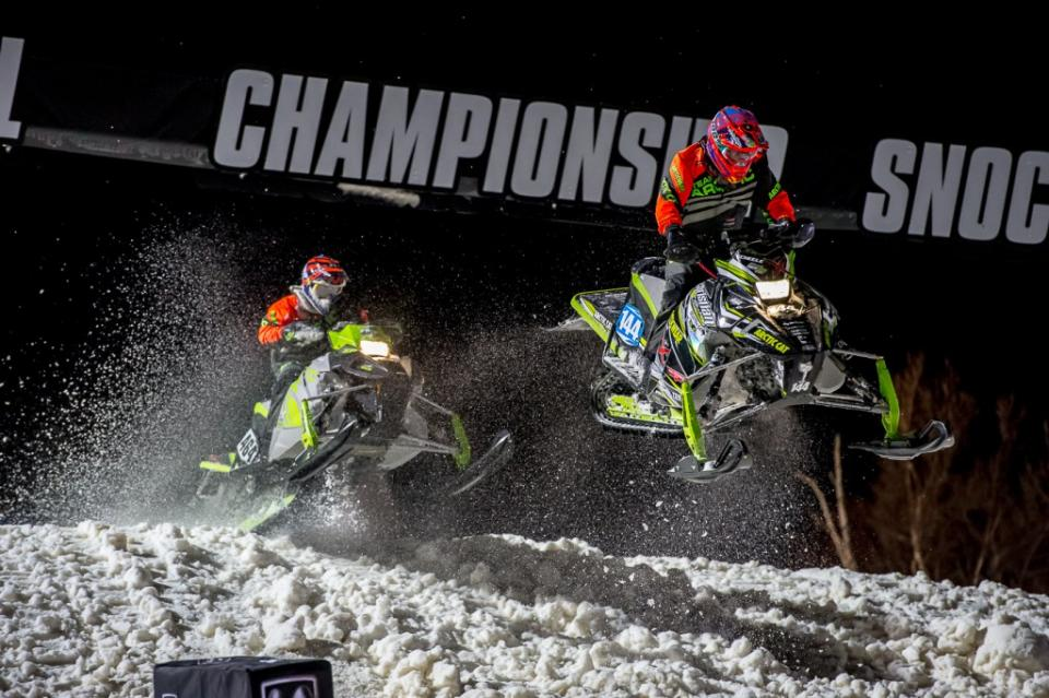 Snocross racing from Duluth MN