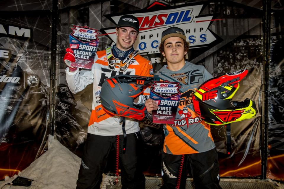 Trent Wittwer wins snocross Sports Class