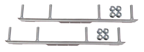 "1//2/"" 10/"" Round Bar Pair Snowmobile Ski Carbides - C/&A Sport 1 RM8310"