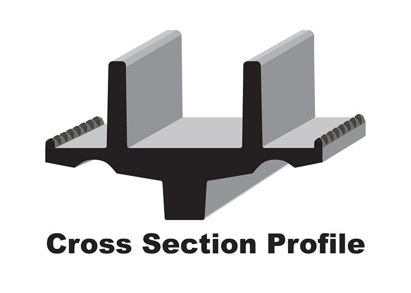 C&A Pro BX ski profile