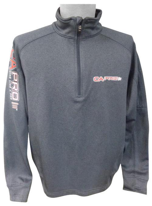 Gray 1/4 Zip Pullover