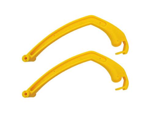 Yellow C&A Pro Ski Handles