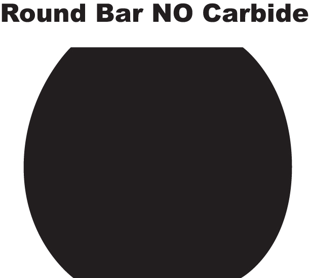 Round Bar No Carbide