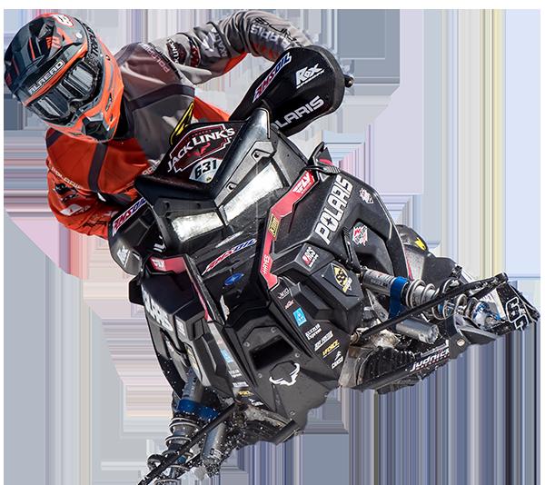 Sponsored Pro & Semi-Pro Snowmobile Riders