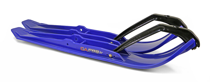 C&A Pro Xtreme Performance Trail Snowmobile Skis Blue