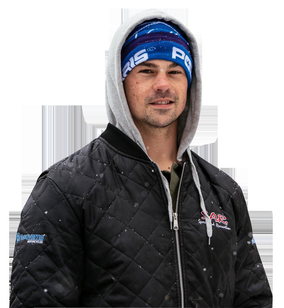 Freestyle rider Josh Penner
