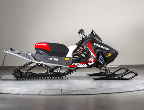 2019 Polaris 600R Race Sled Features C&A Pro Skis