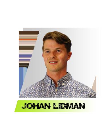 Johan Lidman snocross racer